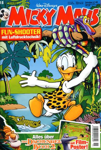 Micky Maus 2328 - Mickey Mouse - German - Duck - Donald Duck - Shooter