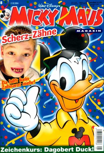 Micky Maus 2374 - Walt Disney - Mouse Ears - Boy - Thumb - Cruddy Teeth