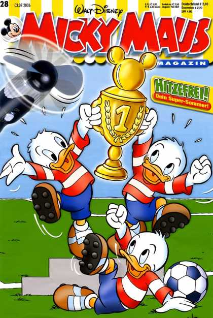 Micky Maus 2498 - Soccer - Trophy - Nephews - Winning - Number 1