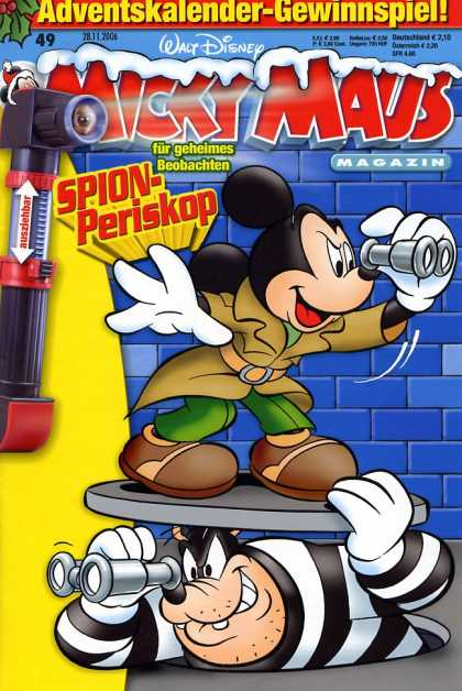 Micky Maus 2519 - Disney - Disney Comics - Mickey Mouse - Detective - Thief