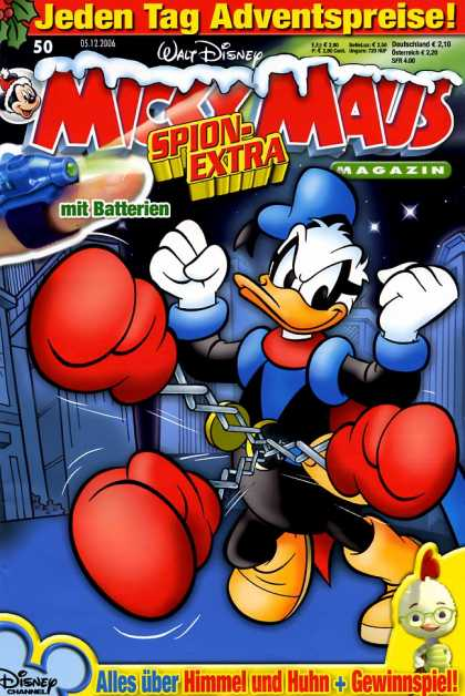 Micky Maus 2520 - Duck - Chicken Little - Fists - Buildings - Boxing Gloves