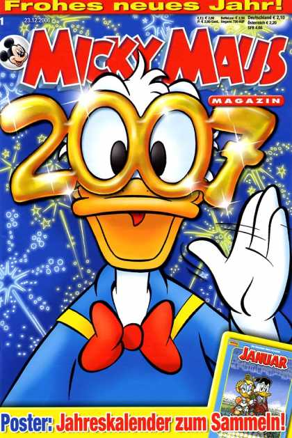 Micky Maus 2523 - Donald Jamming - Seeing 2007 - Party Time Donald - Celebration Donald Time - Lets Get Groovy