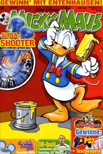 Micky Maus 2535 - Gewinn Mit Entenhausen - Walt Disneys - Super-shooter - Donald Duck - Brush