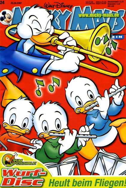 Micky Maus 2546 - Ducks - Trombone - Flutes - Playing Music - Heult Beim Fliegen