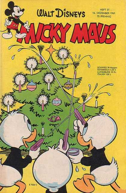 Micky Maus 313 - Christmas Tree - Candles - Ducks - Water Guns - Baubles