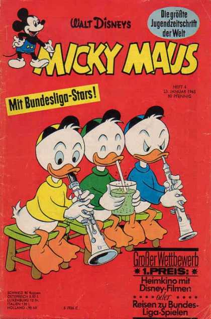 Micky Maus 475 - Walt Disney Cartoons - Your Favorite Mouse - Return Of The Mousketeers - Relax With Disney Comics - Mickeys Back
