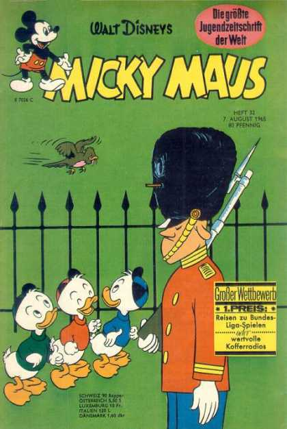 Micky Maus 503 - Black Fence - Three Ducks - London - Soldier - Angry Sparrow
