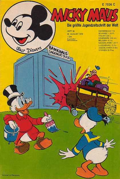 Micky Maus 767 - Ram - Bank - Donald Duck - Paint - Robber