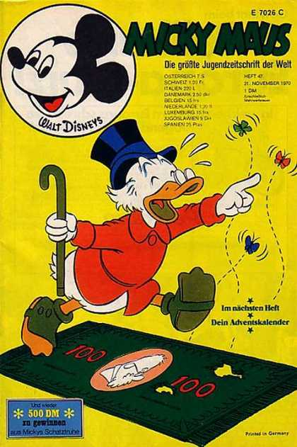 Micky Maus 779 - Uncle Scrooge - Mickey Mouse - Butterflies - Money - Dein Adventskalender