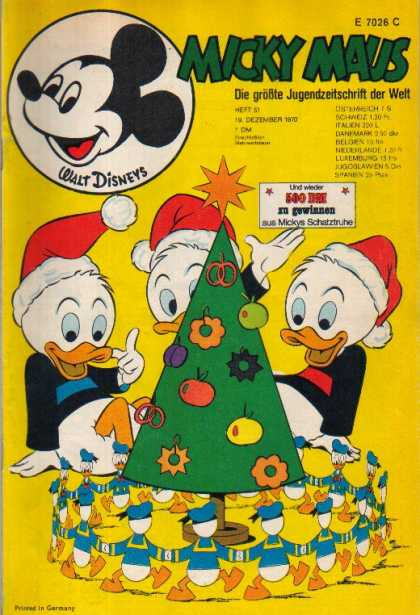 Micky Maus 783 - Walt Disney - Mickey Mouse - Donald Duck - Christmas - Baby Ducks