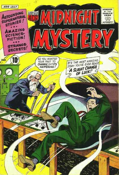 Midnight Mystery 4 - Amazing Science Fiction - Strange Secrets - Astounding Supernatural Stories - A Slight Change Of Luck - Change Past