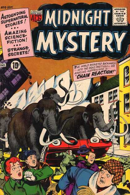 Midnight Mystery 6 - Chain Reaction - Rampage - Frightened People - Fleeing - Dead Past