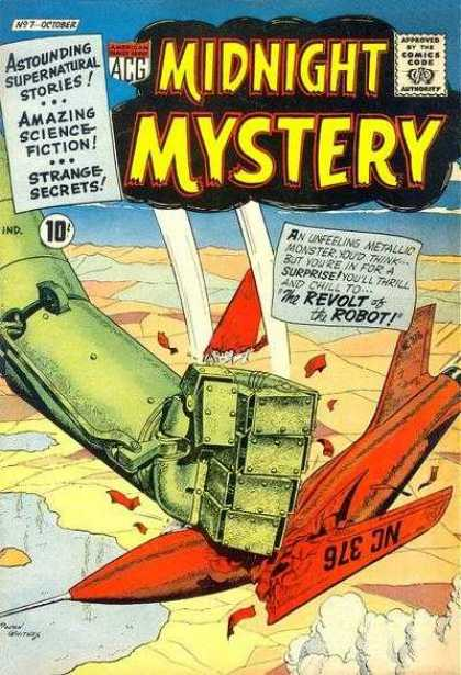 Midnight Mystery 7 - Jet Fighter - Giant Roboter - War - Action - Science-fiction