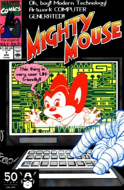 Might Mouse (1990) 7