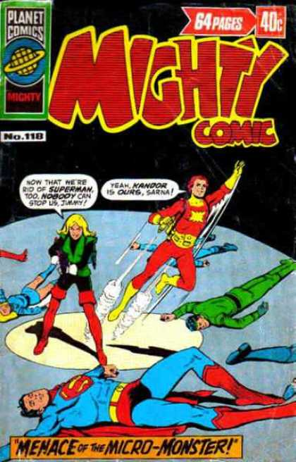 Mighty Comic 118 - Planet Comics - Superman - 64 Pages - No118 - Menace Of The Micro-monster