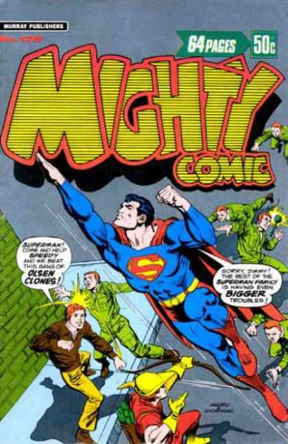 Mighty Comic 128 - Cryptonite - Green Suit - Muscles - Mary Kate U0026 Ashley - Illustration