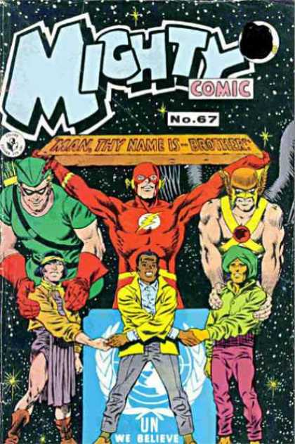 Mighty Comic 67 - United Nations - Brothers - Thunder Cat - Agreement - Together