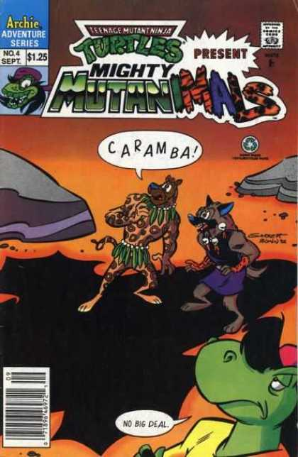 Mighty Mutanimals 4 - Mutanimals - Archie Adventure Series - Caramba - Dog - Cheetah