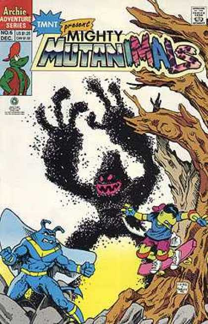 Mighty Mutanimals 6 - Archies Adventure Series - Monsters - Animals - Tmnt - Trees - Peter Laird
