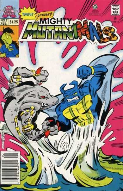 Mighty Mutanimals 7 - No7 - Feb - Tmnt - 125 - Present