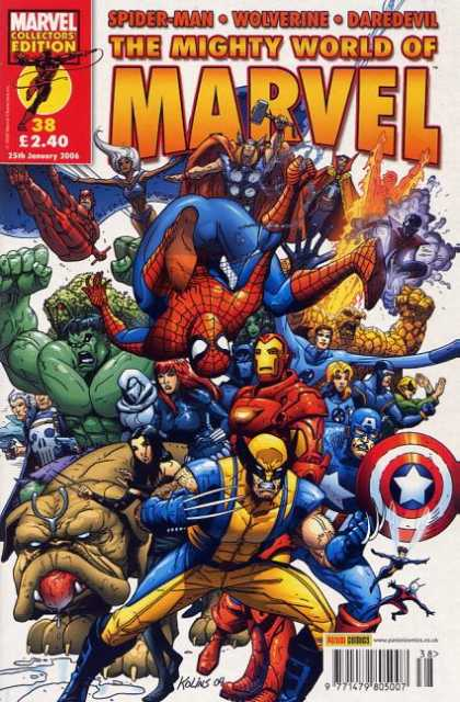 Mighty World of Marvel 38 - Scott Kolins