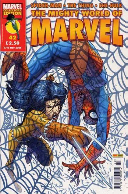 Mighty World of Marvel 42 - Scott Kolins
