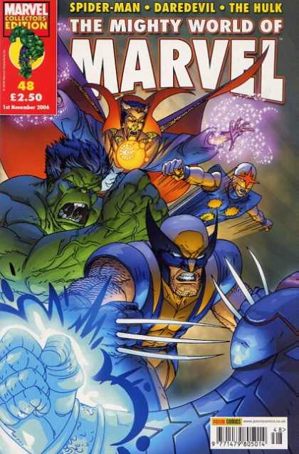 Mighty World of Marvel 48 - Scott Kolins