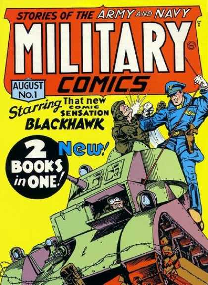 Military Comics 1 - Will Eisner