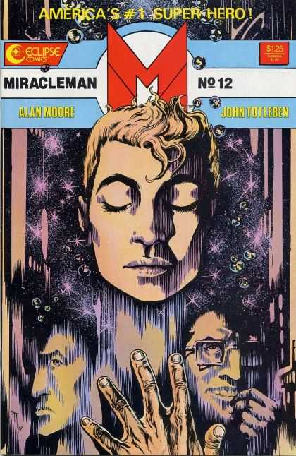 Miracle Man 12 - Face - Head - Marb Les - Hand - Man In Glasses