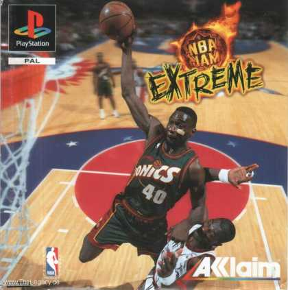 Misc. Games - NBA JAM Extreme