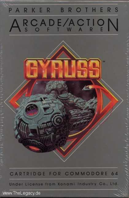 Misc. Games - Gyruss