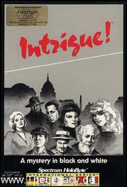 Misc. Games - Intrigue!