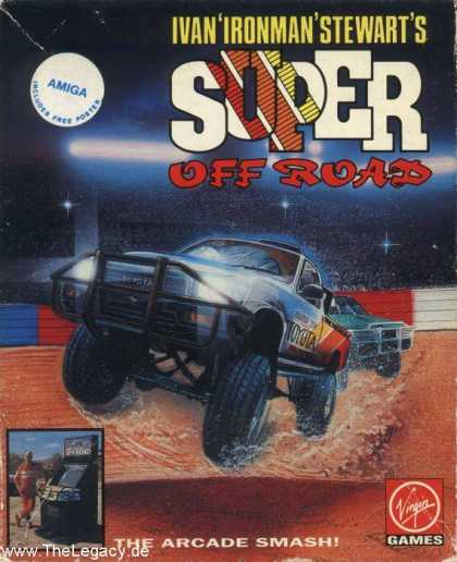 "Misc. Games - Ivan ""Iron Man"" Stewart's Super Off Road"