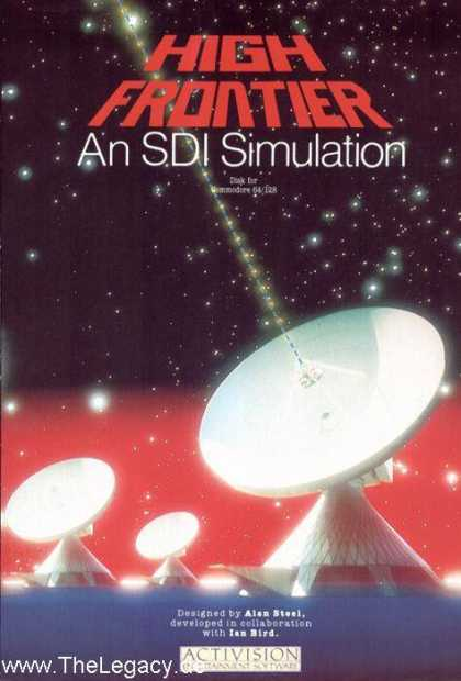 Misc. Games - High Frontier: An SDI Simulation