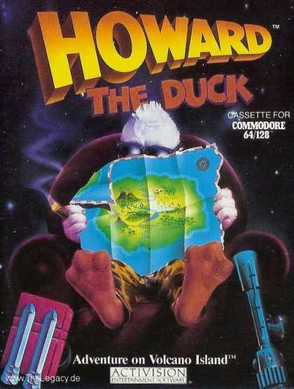 Misc. Games - Howard The Duck: Adventure on Volcano Island