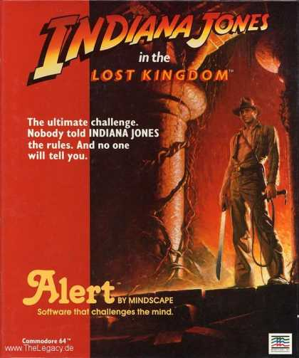 Misc. Games - Indiana Jones in the Lost Kingdom