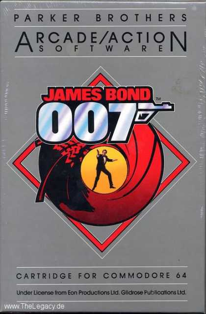 Misc. Games - James Bond 007