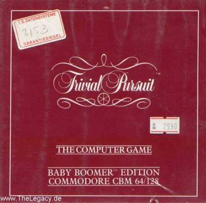 Misc. Games - Trivial Pursuit: Baby Boomer