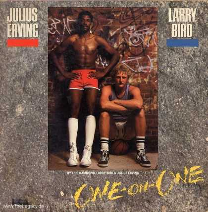 Misc. Games - One-on-One: Julius Irving and Larry Bird go...