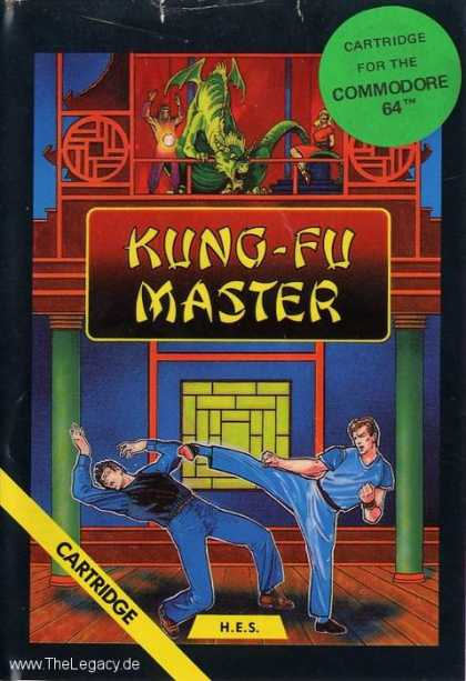 Misc. Games - Kung-Fu Master