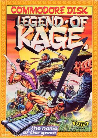 Misc. Games - Legend of Kage
