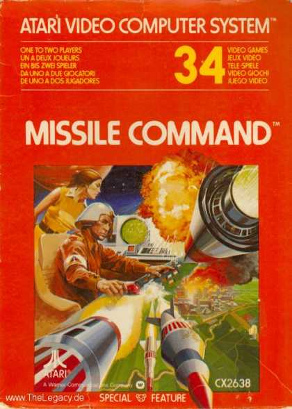 Misc. Games - Missile Command