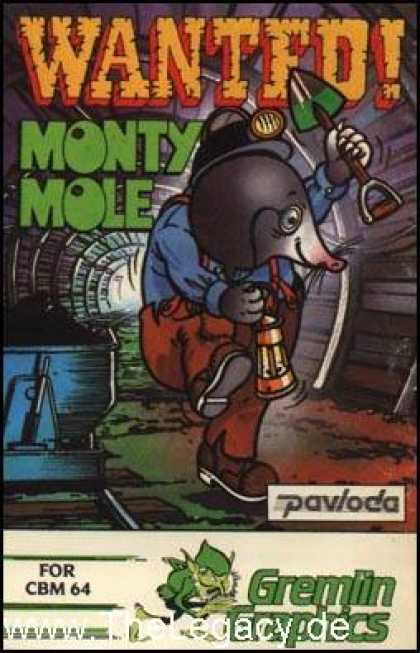 Misc. Games - Wanted! Monty Mole