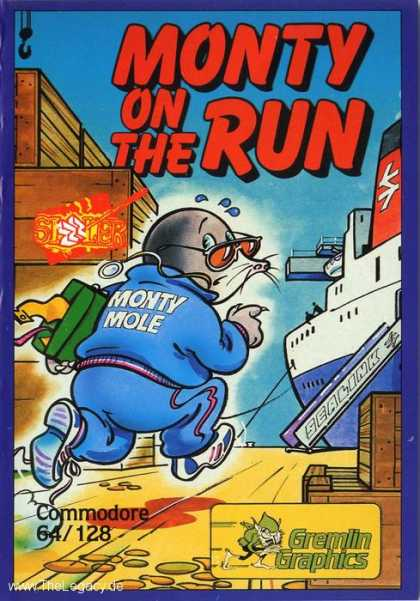 Misc. Games - Monty on the Run