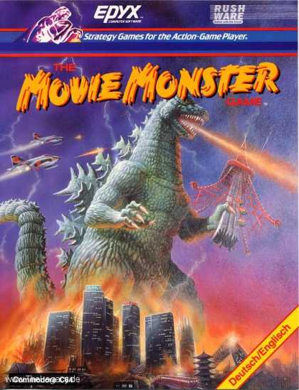 Misc. Games - Movie Monster Game, The