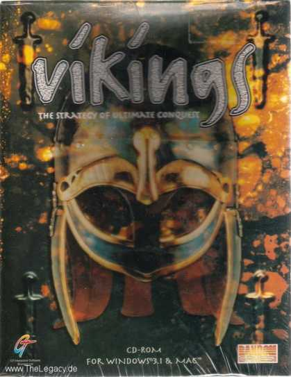 Misc. Games - Vikings: The Strategy of ultimate Conquest
