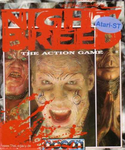 Misc. Games - Clive Barker's Nightbreed: The Action Game