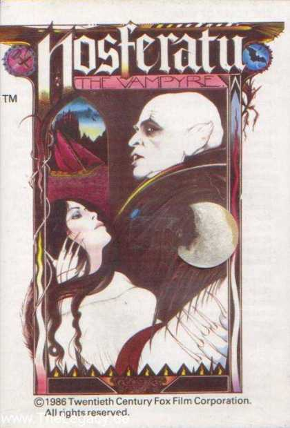 Misc. Games - Nosferatu: The Vampyre