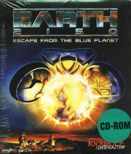 Misc. Games - Earth 2150: Escape from the Blue Planet