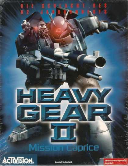 Misc. Games - Heavy Gear II: Mission Caprice
